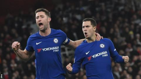 Charlie Nicholas states his prediction for Chelsea v Arsenal semi-final