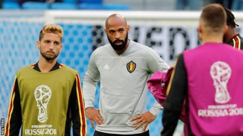 Thierry Henry quits television role to focus on coaching career