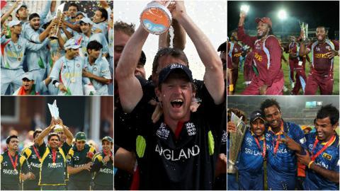 World T20 winners