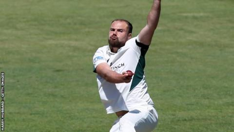 Worcestershire captain Joe Leach