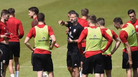 Wales manager Ryan Giggs left fretting over Ashley Williams injury