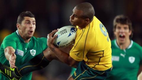 Scrum-half Genia was on the losing side when Australia played Ireland in Auckland in 2011