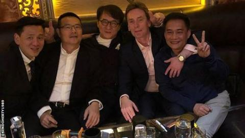 Ken Doherty, Jackie Chan and friends