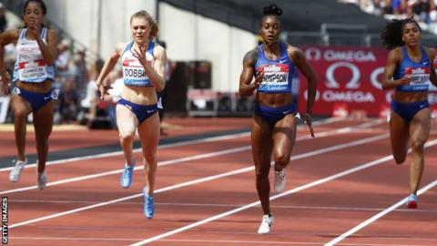 Beth Dobbin: Sprinter confident of continuing record-breaking form