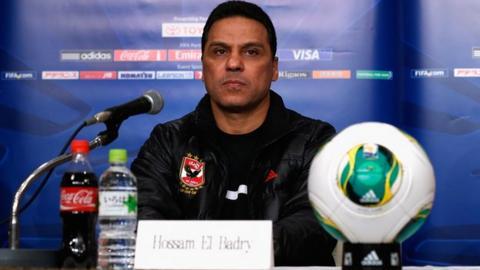 Al Ahly coach Hossan El Badry