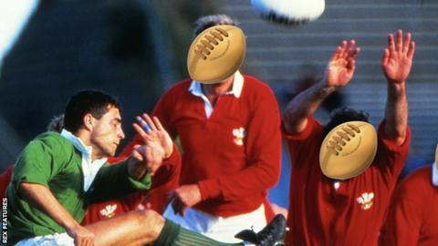 Wales v Ireland at the 1987 World Cup