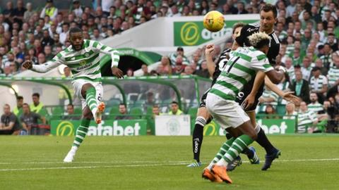Celtic beat Norwegian title winners Rosenborg in the Champions League qualifiers