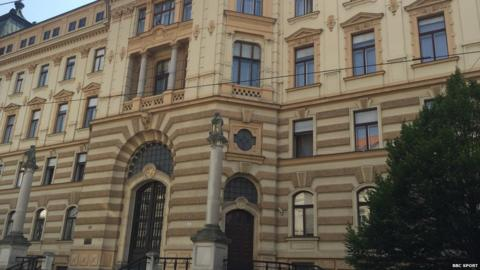 The Brno court where Kvitova gave evidence in the trial of Radim Zondra earlier this year