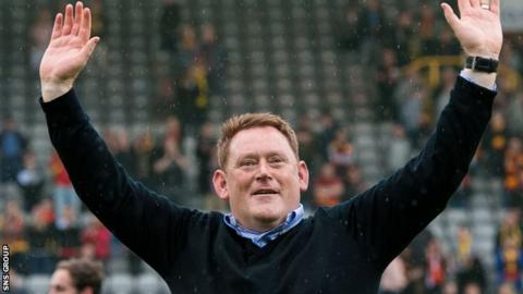 David Hopkin left Livingston after steering the club from League One to the Premiership