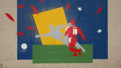 World Mental Health Day: Street art campaign launched by English Football League