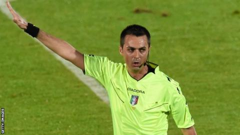 Italian referee