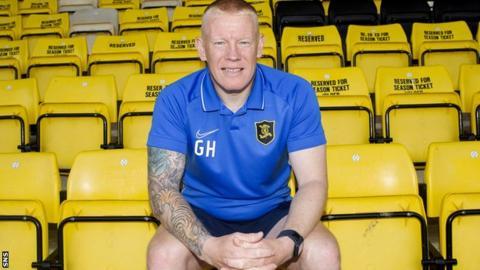 Livingston manager Gary Holt