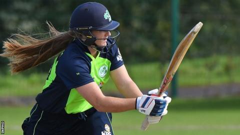 Shauna Kavanagh was Ireland's top scorer with 79 runs