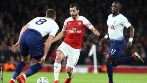 Mkhitaryan, Bellerin ruled out of Arsenal clash with Brighton with respective injuries