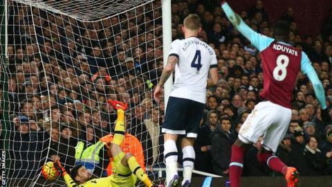 West Ham v Tottenham