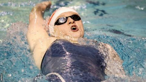 Danielle Hill picked up a second Irish title at the National Aquatic Centre in Dublin