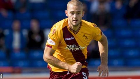 Former Motherwell defender Louis Laing
