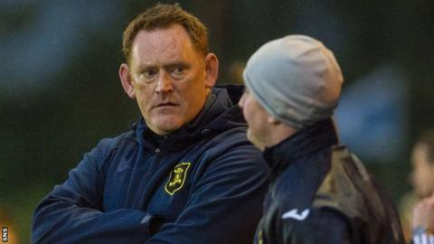 Livingston manager David Hopkin