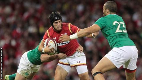 Bristol's Matthew Morgan can play fly-half, full-back centre or wing for Wales