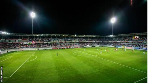 Bakcell Stadium in Baku