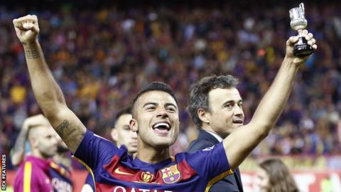 Barcelona midfielder Rafinha