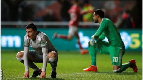 Bristol City 'looked like the Premier League side' against Man Utd - Johnson