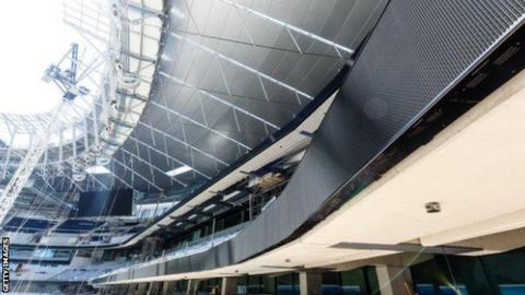 Wembley single tier stand