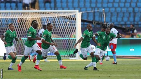 AFCON 2019: Madagascar shock DR Congo on penalties to reach last eight