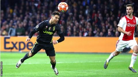 Image result for ronaldo ajax 2019