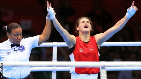 What winning Olympic Games gold meant to Kate Taylor in London four years ago