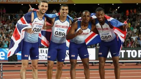 Great Britain men's 4x100m relay team