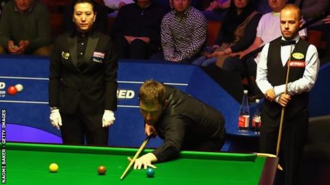 Ricky Walden's best performance at The Crucible was reaching the semi-finals in 2013, surrendering a 12-8 lead to lose to Barry Hawkins