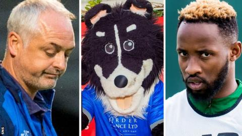 Ray McKinnon, Dougie the Doonhamer, Moussa Dembele