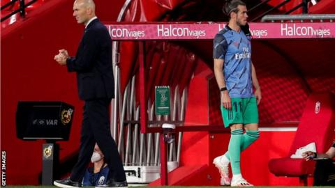 Real Madrid coach Zidane admits dropping Bale for Leganes draw