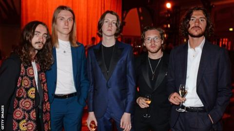 Stockport band Blossoms' self-titled debut album charted at number one on the Official UK Albums Chart
