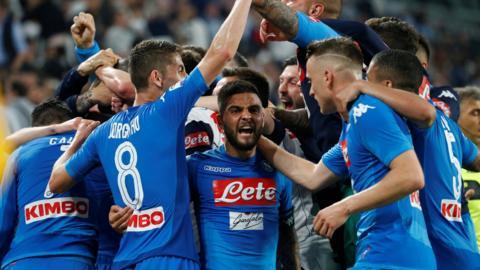 Napoli celebrate