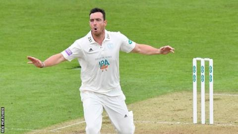 Hampshire matchwinner Kyle Abbott played two Championship matches, two List A games and three T20 matches in his short spell with Worcestershire in 2016
