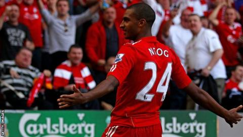 David Ngog spent three years with Liverpool, making 94 appearances