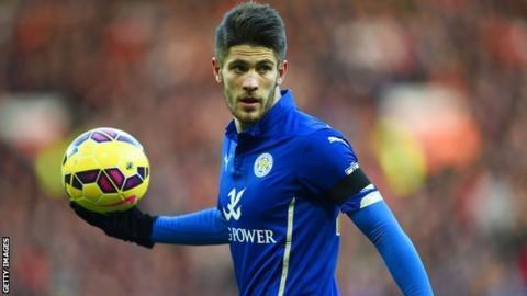 Leicester striker Andrej Kramaric