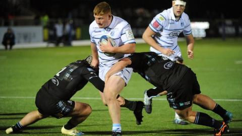 Wales prop Rhys Carre made five appearances for Saracens in the 2019-20 season