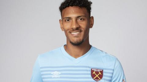 Sebastien Haller: West Ham sign Eintracht Frankfurt striker for club record £45m