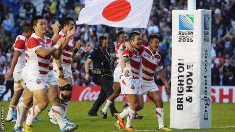 6b1a26514d9 Japan's Rugby World Cup win against South Africa to be made into a ...