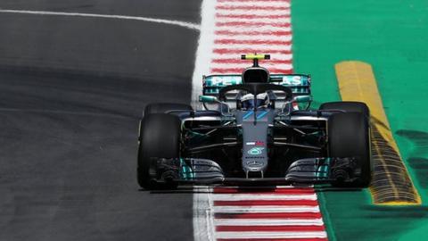 Valtteri Bottas of Mercedes