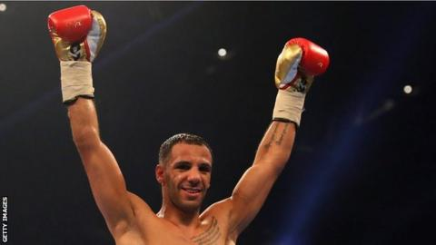 Kal Yafai celebrating a win
