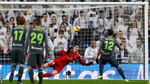 Willian Jose scores for Real Sociedad