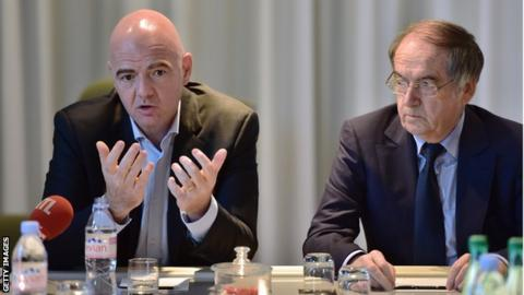 Infantino and Le Graët