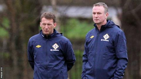 Billy McKinlay and Michael O'Neill