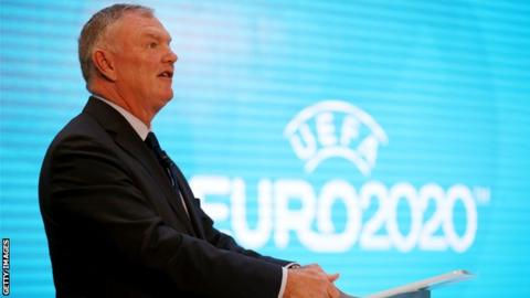 English FA chairman Greg Clarke
