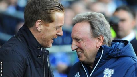 Garry Monk's Blues pulled two second-half goals last weekend against Neil Warnock's Cardiff city