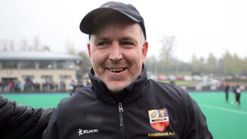 Mark Tumilty led Banbridge to one Irish Hockey League title and two Irish Cups